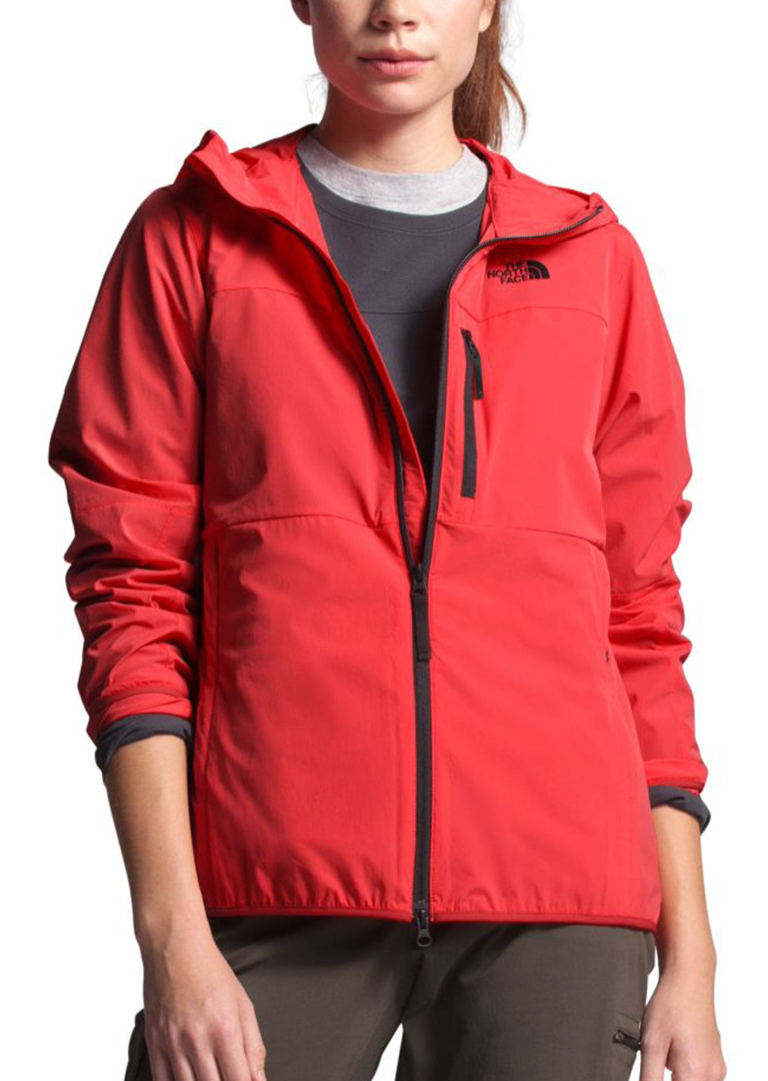 The North Face Women's North Dome Jacket Cayenne Red