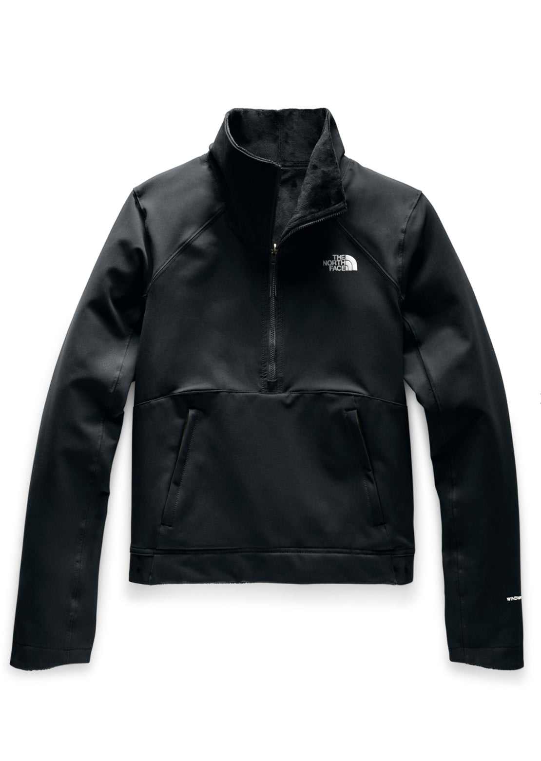 The North Face Women's Shelbe Raschel Reversible Pullover Sweater TNF Black/TNF Black
