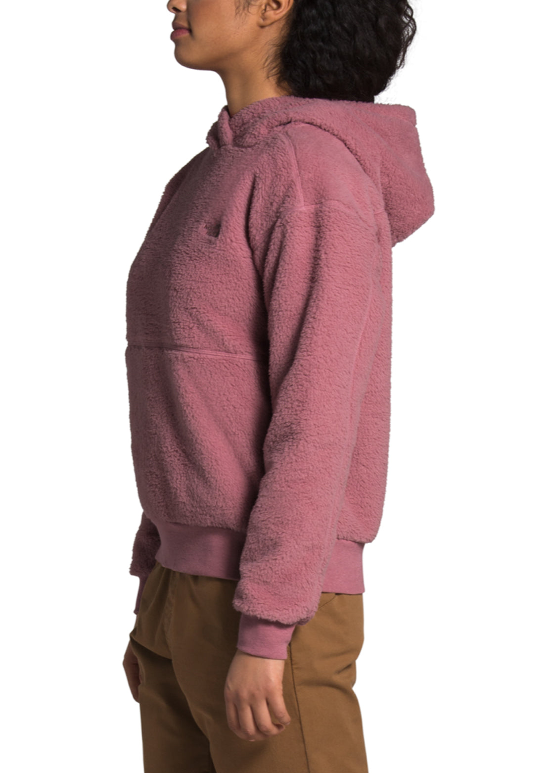 The North Face Women's Sherpa Pullover Hoodie Mesa Rose