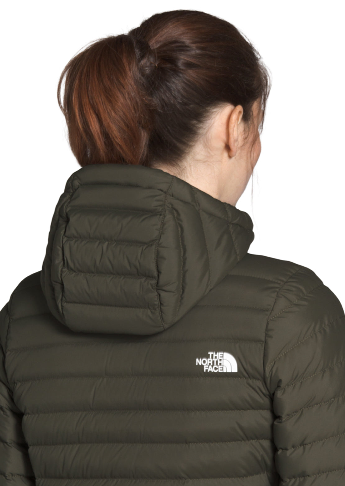 The North Face Women's Stretch Down Parka Jacket New Taupe Green