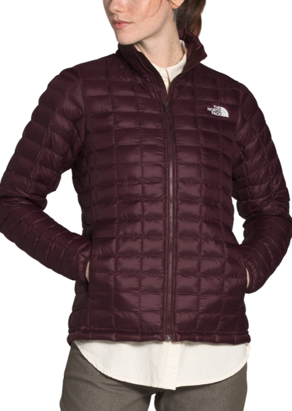 The North Face Women's ThermoBall Eco Jacket Root Brown Matte