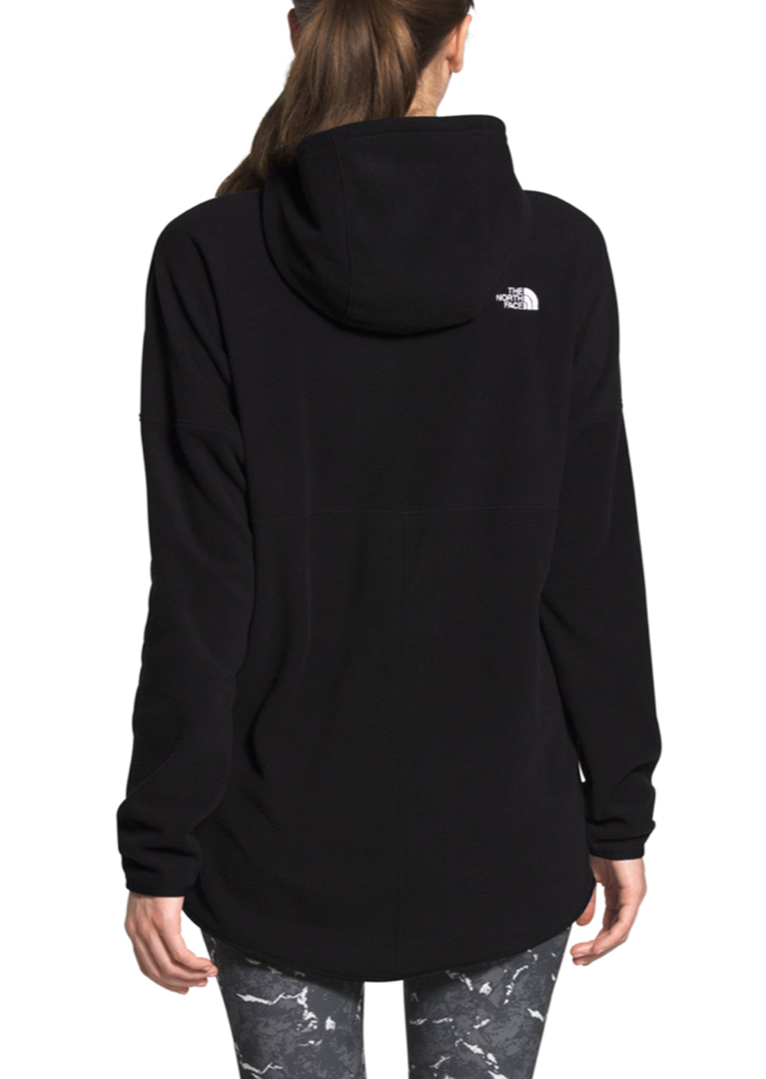 The North Face Women's TKA Glacier CYA Pullover Hoodie TNF Black