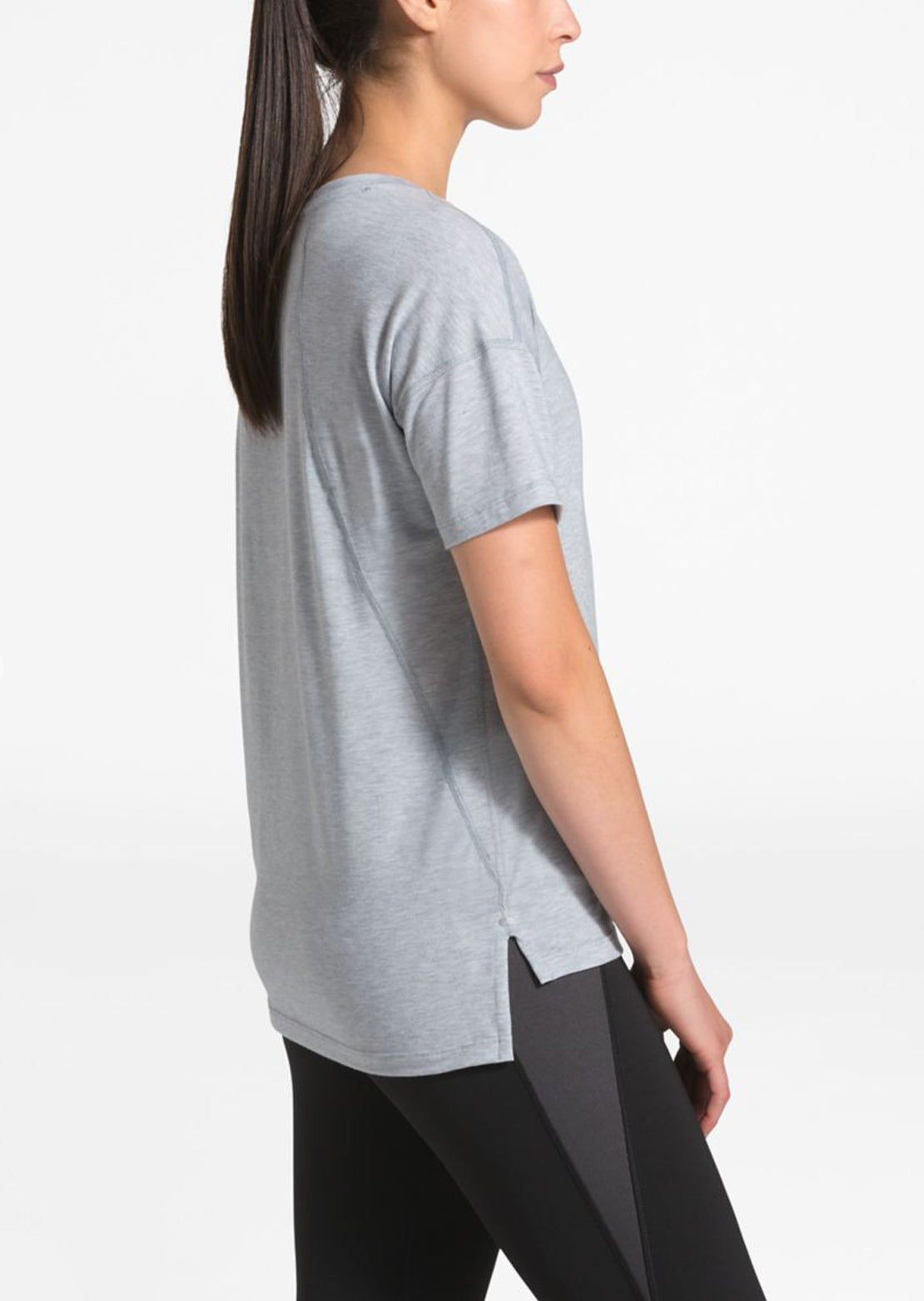 The North Face Women's Workout T-Shirt TNF Light Grey Heather