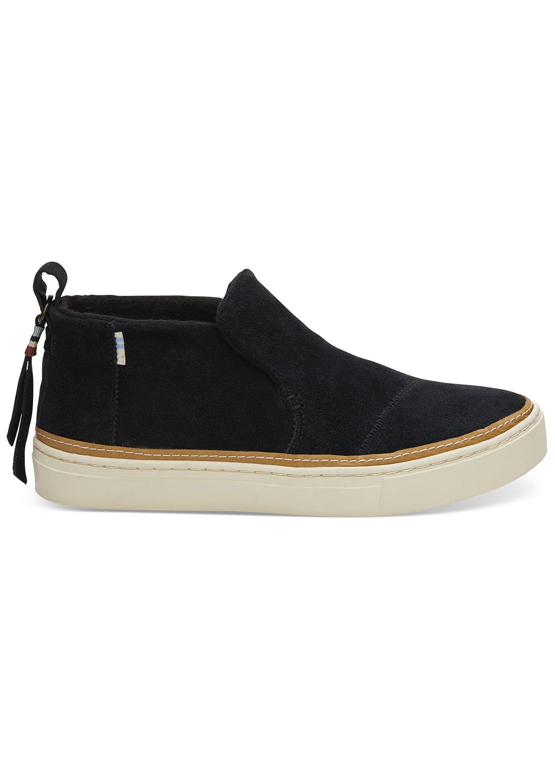 Toms Women's Paxton Shoes Black Suede