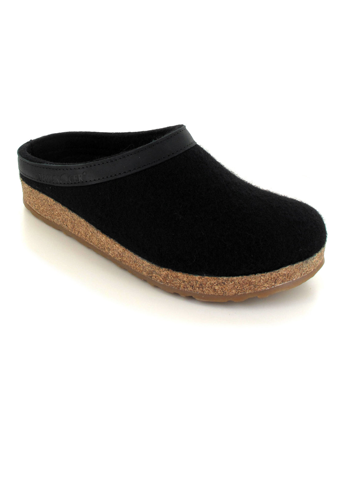 Haflinger Women's Torben Slippers Black