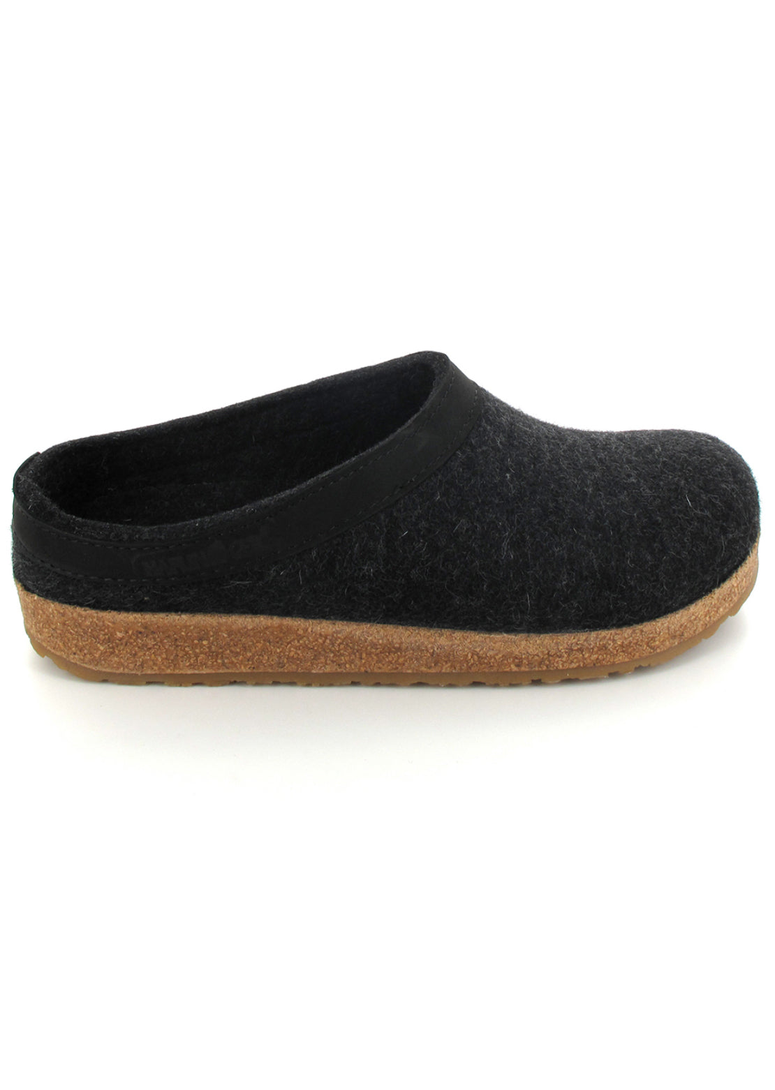 Haflinger Women's Torben Slippers Charcoal