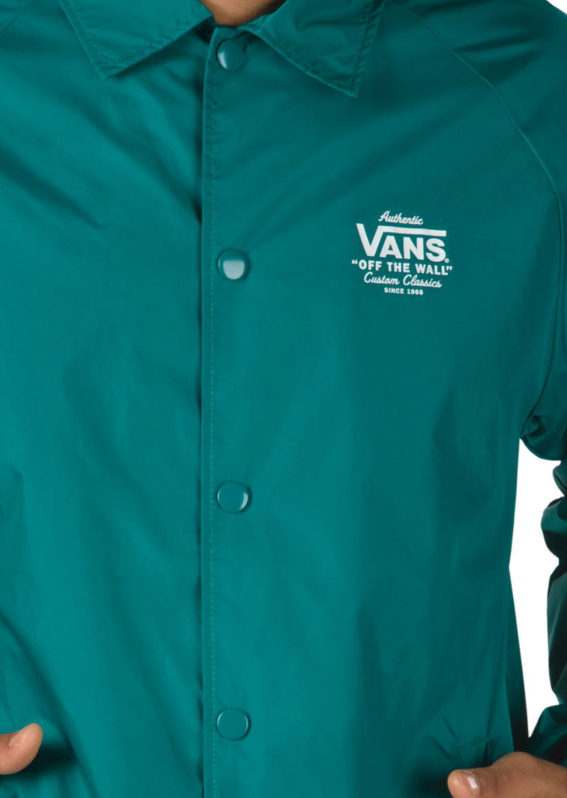 Vans Men's Torrey Coaches Jacket Quetzal