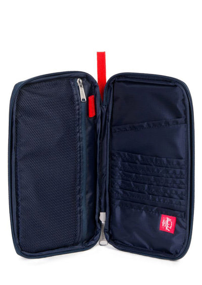 Herschel Travel Wallet Navy/Red
