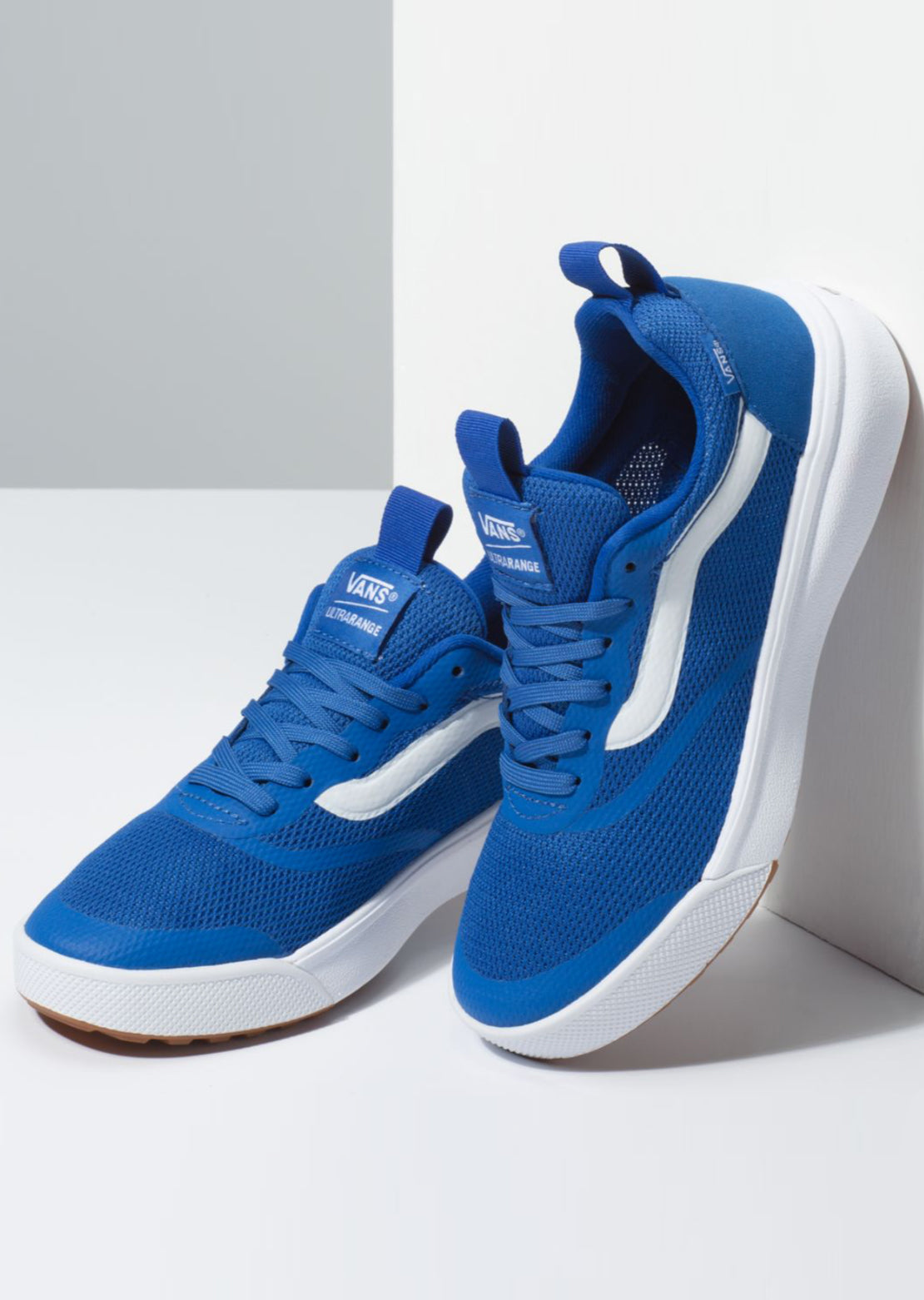 Vans Junior Ultrarange Rapidweld Shoes Lapis Blue/True White
