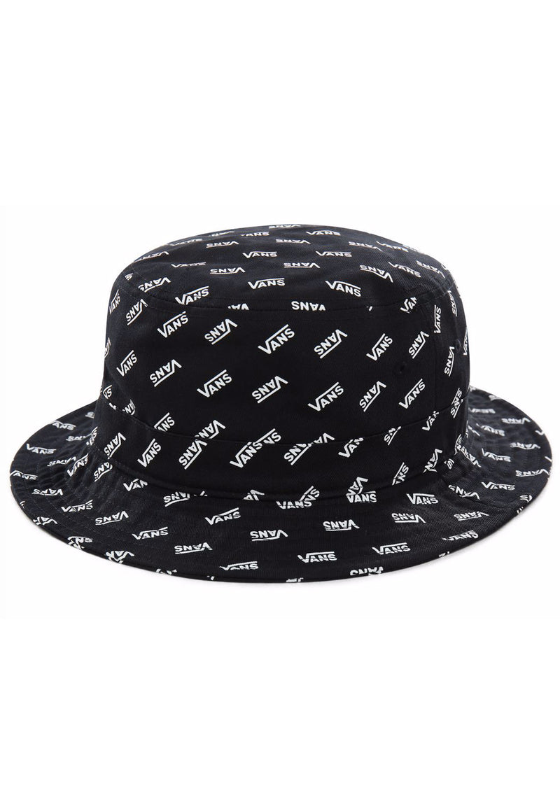 Vans Men's Undertone Bucket Hat Black Retro Vans