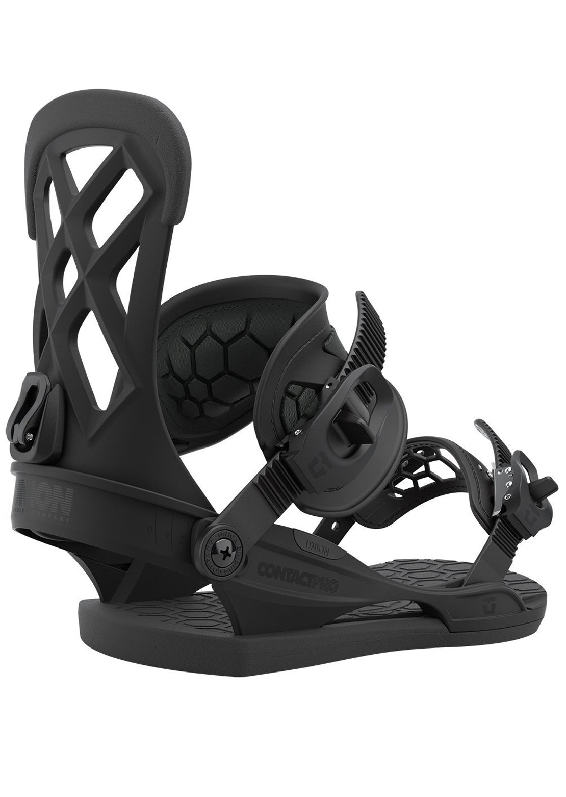 Union Men's Contact Pro Snowboard Bindings Black