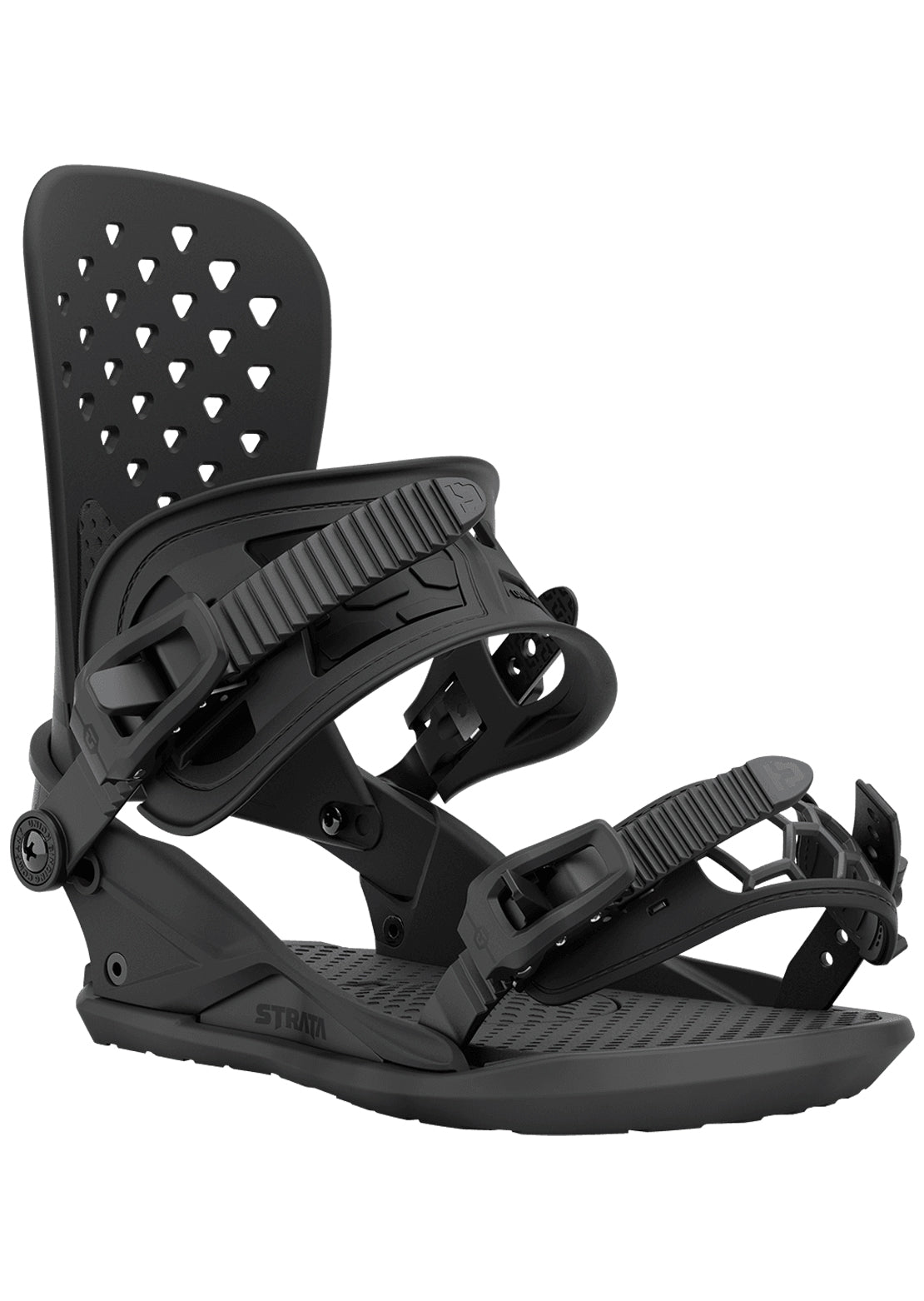 Union Men's Strata Snowboard Bindings Black