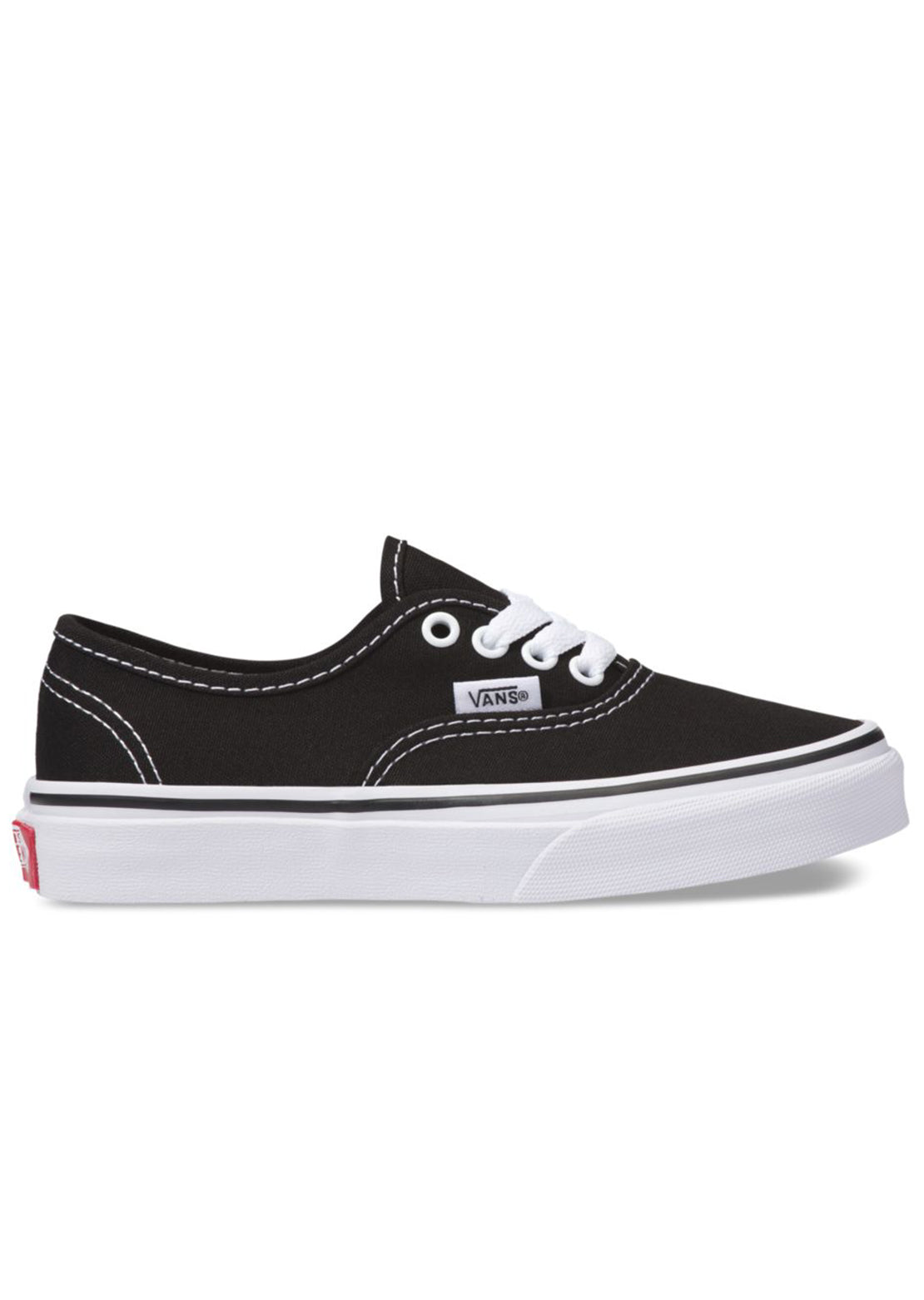 Vans Junior Authentic Shoes Black