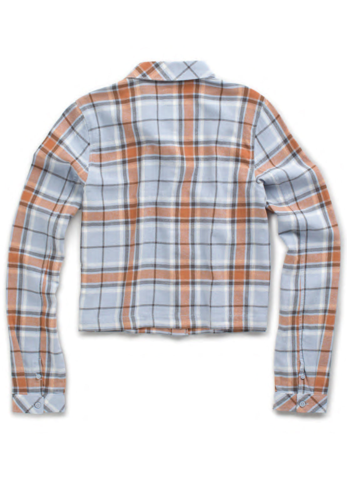 Vans Women's Box Car II Flannel Shirt Zen Blue