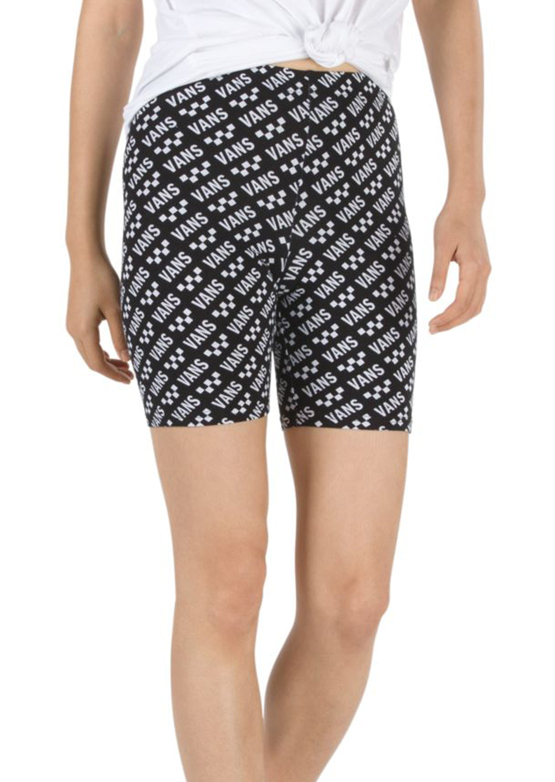 Vans Women's Brand Striper Bike Shorts Brand Striper