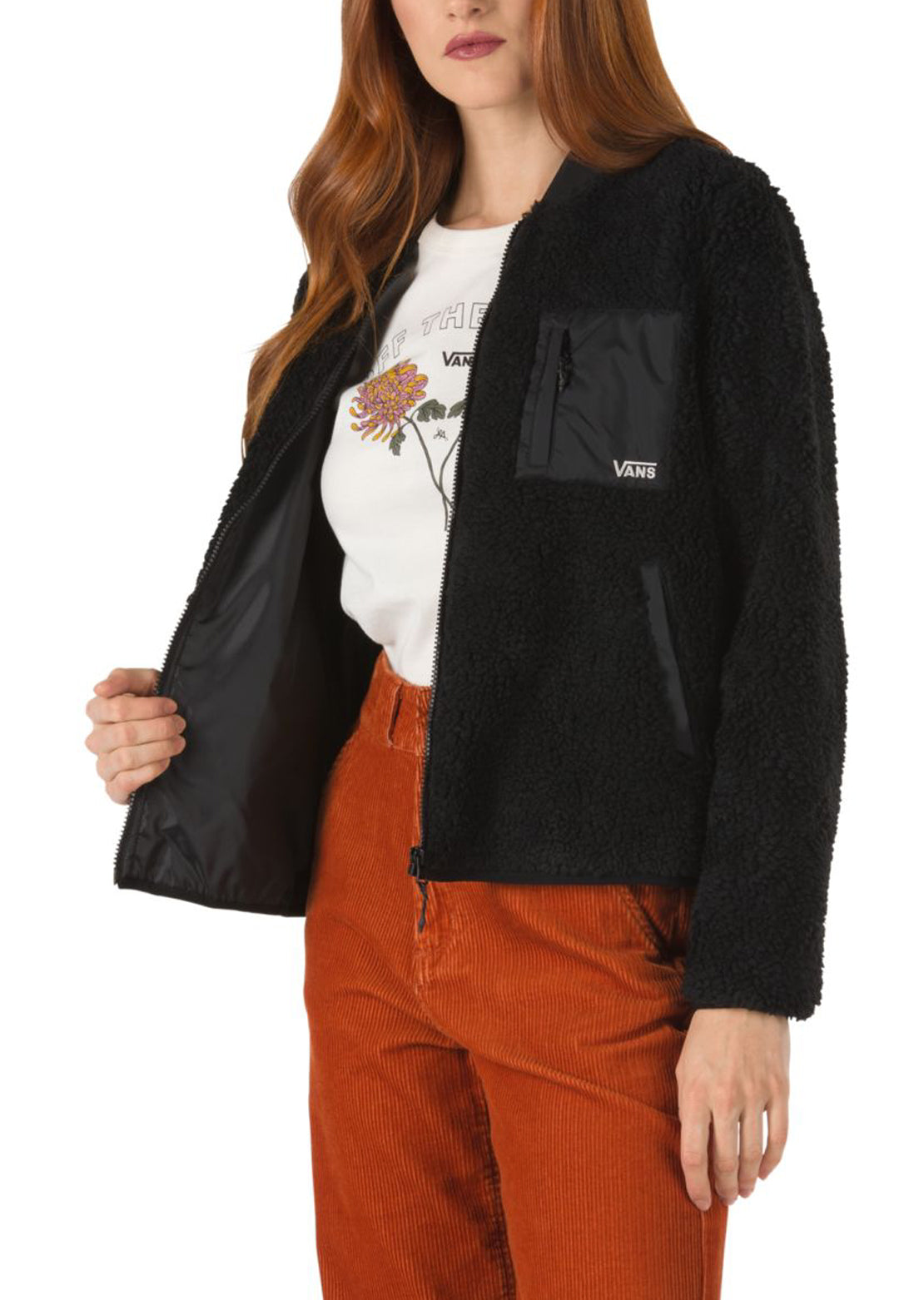 Vans Women's Misty Fog Jacket Black