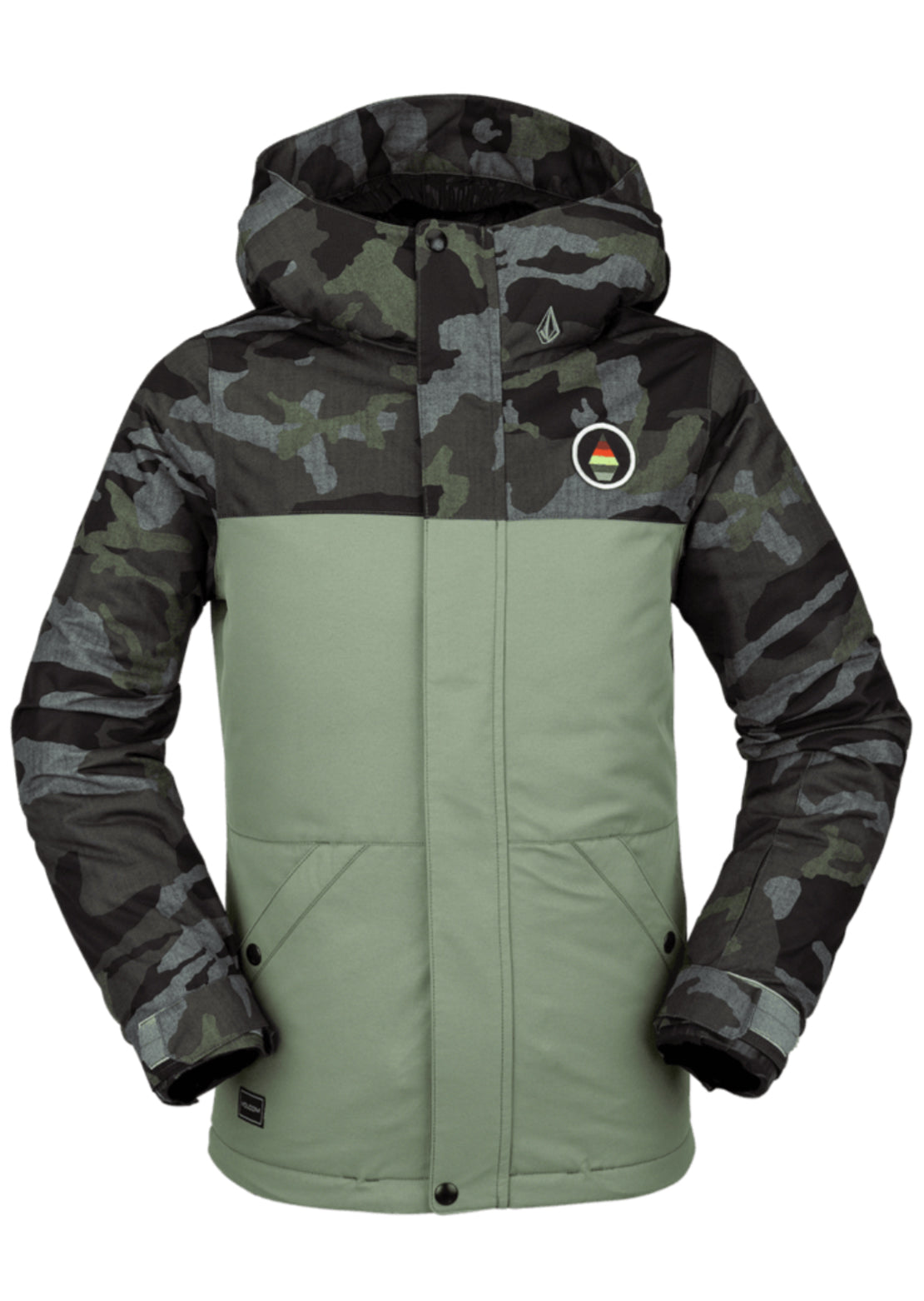 Volcom Junior Sass'n Fras Insulated Jacket Dusty Green
