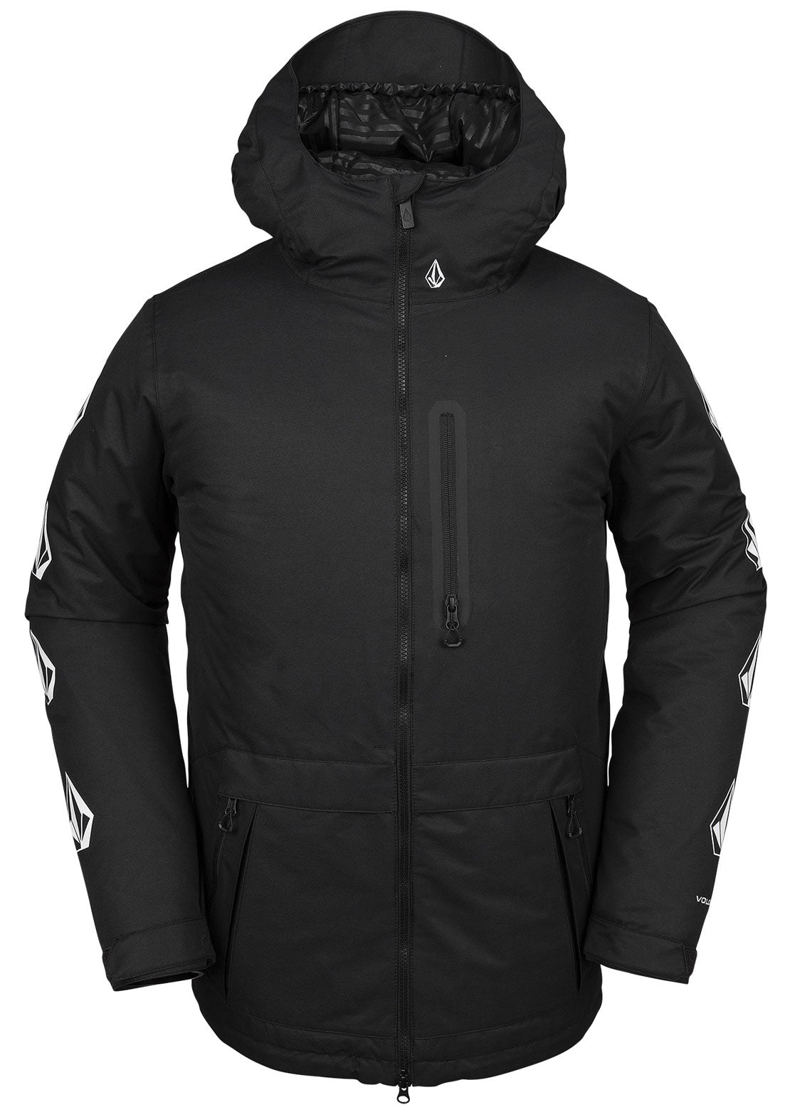 Volcom Men's Deadly Stones Insulated Jacket Black
