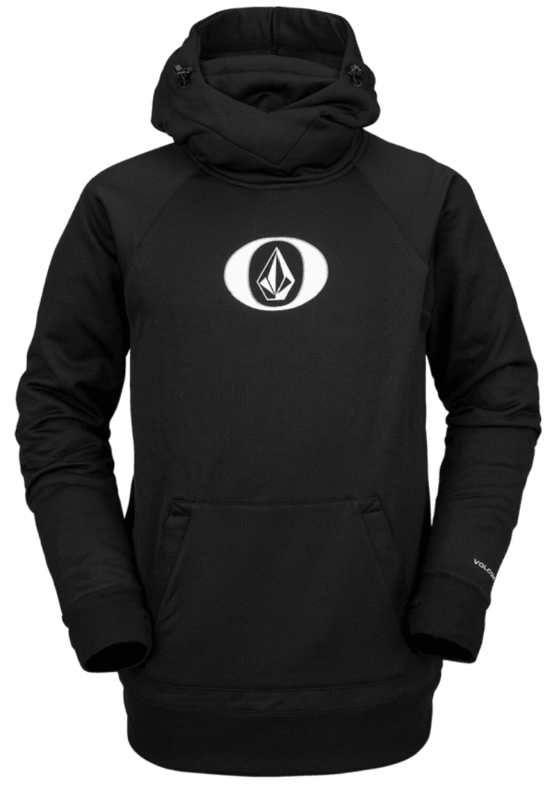 Volcom Men's Hydro Riding Hoodie Black