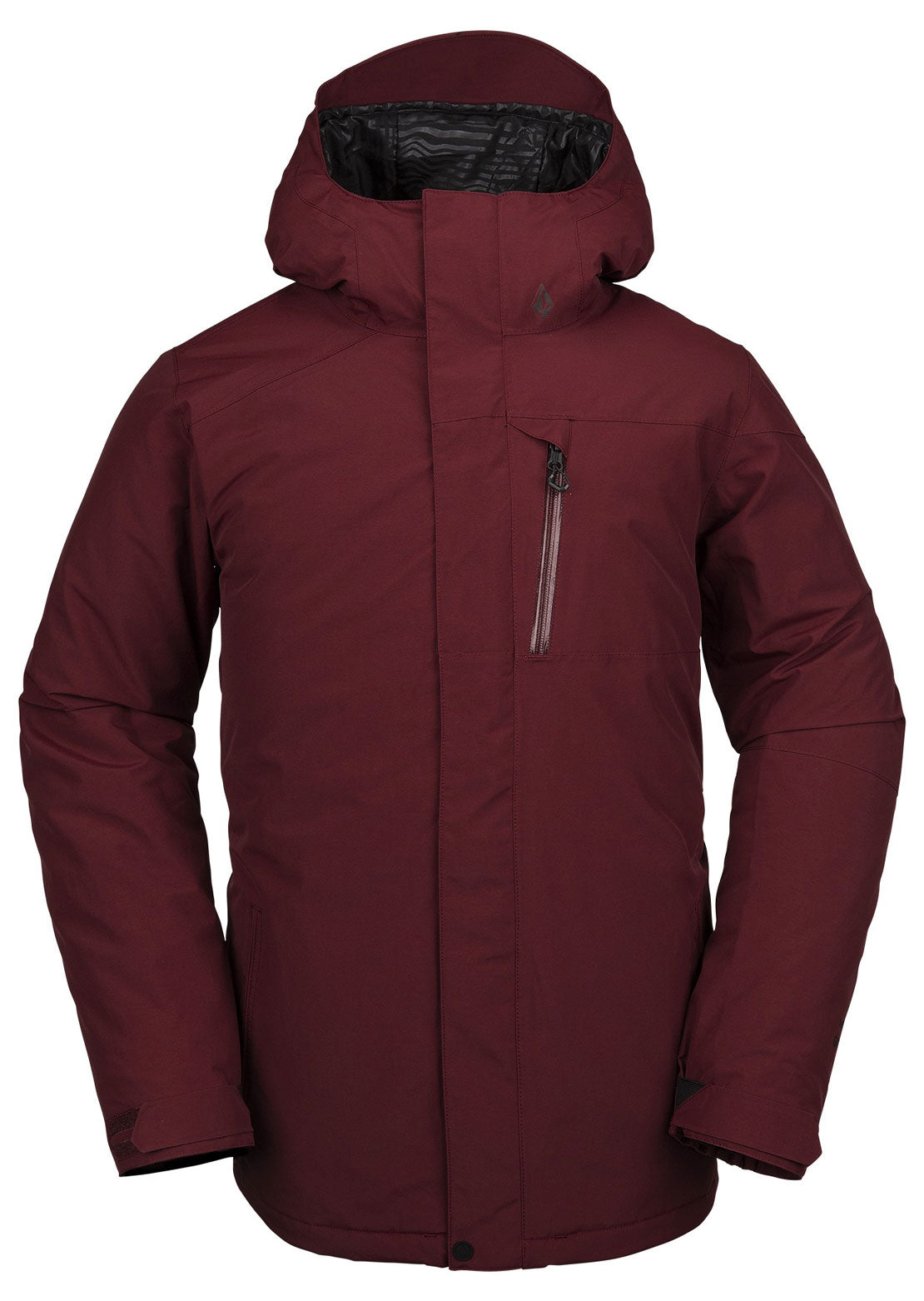 Volcom Men's L Insulated Gore-Tex Jacket Burnt Red