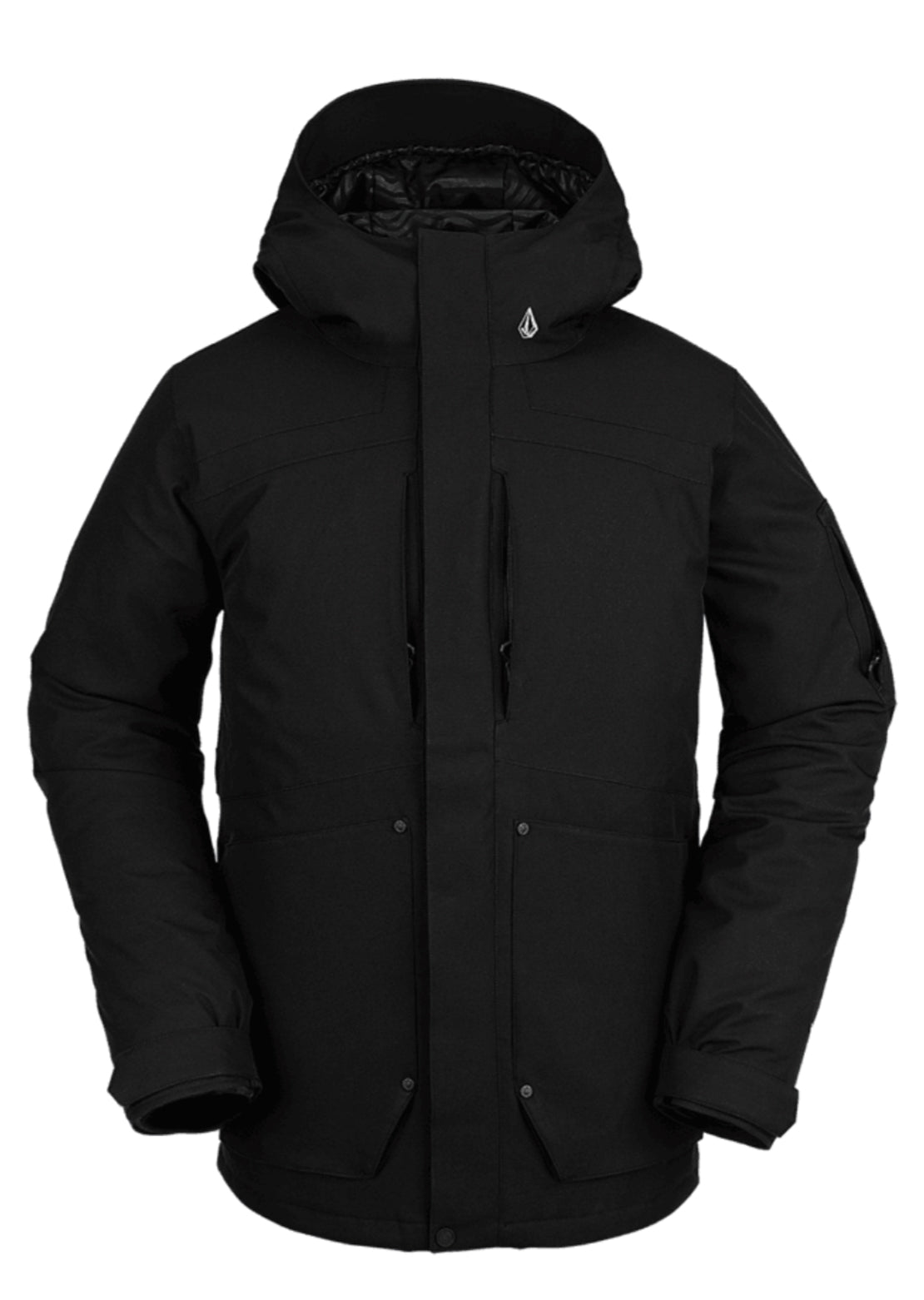 Volcom Men's Scortch Insulated Jacket Black
