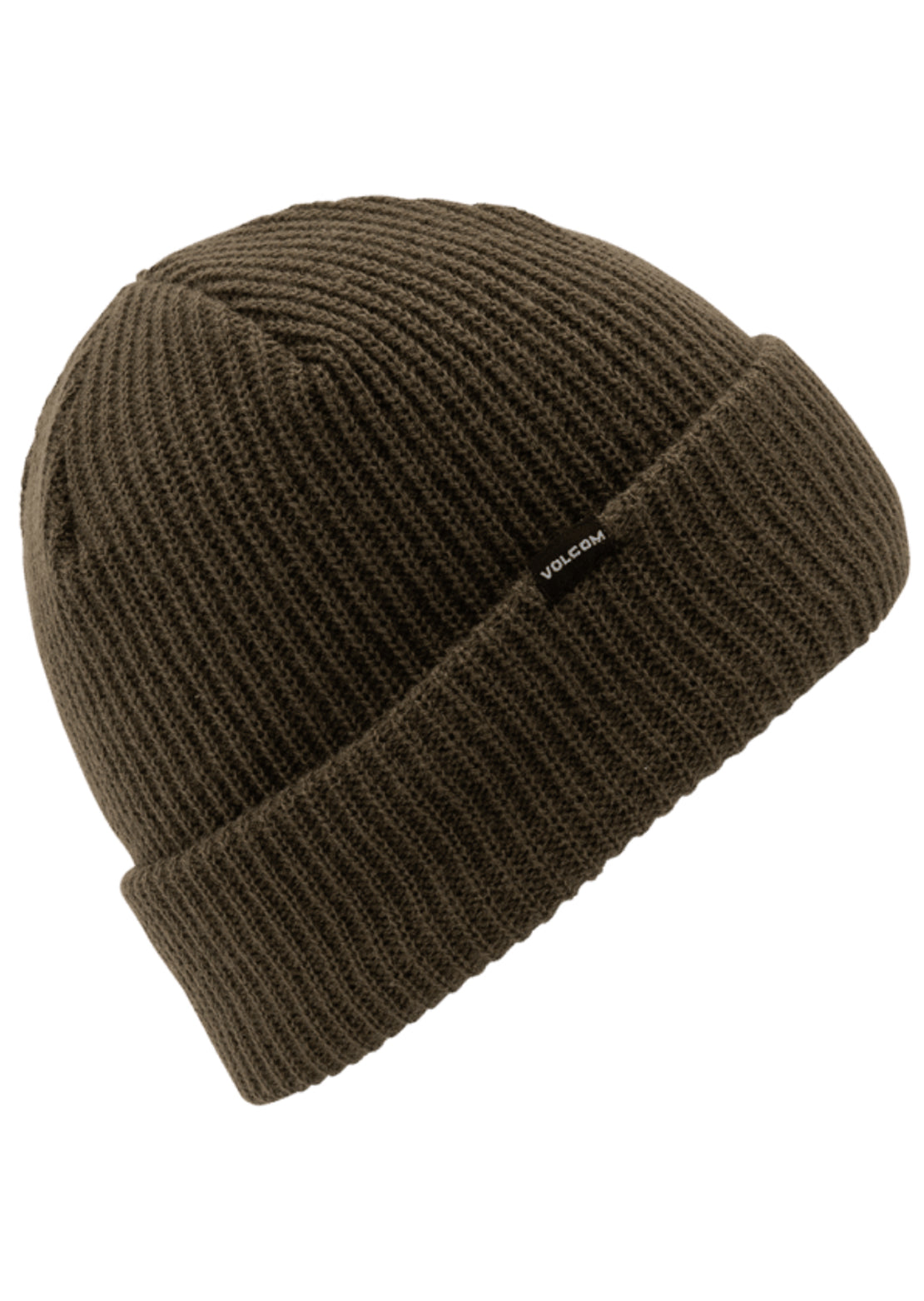 Volcom Sweep Lined Beanie Black Military