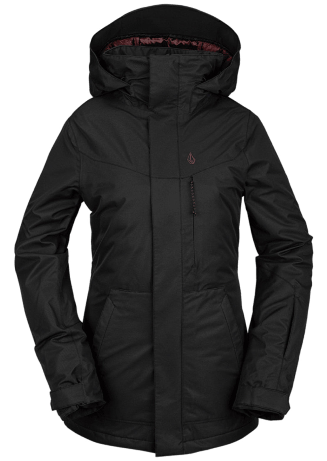 Volcom Women's Pine 2L TDS Jacket Black