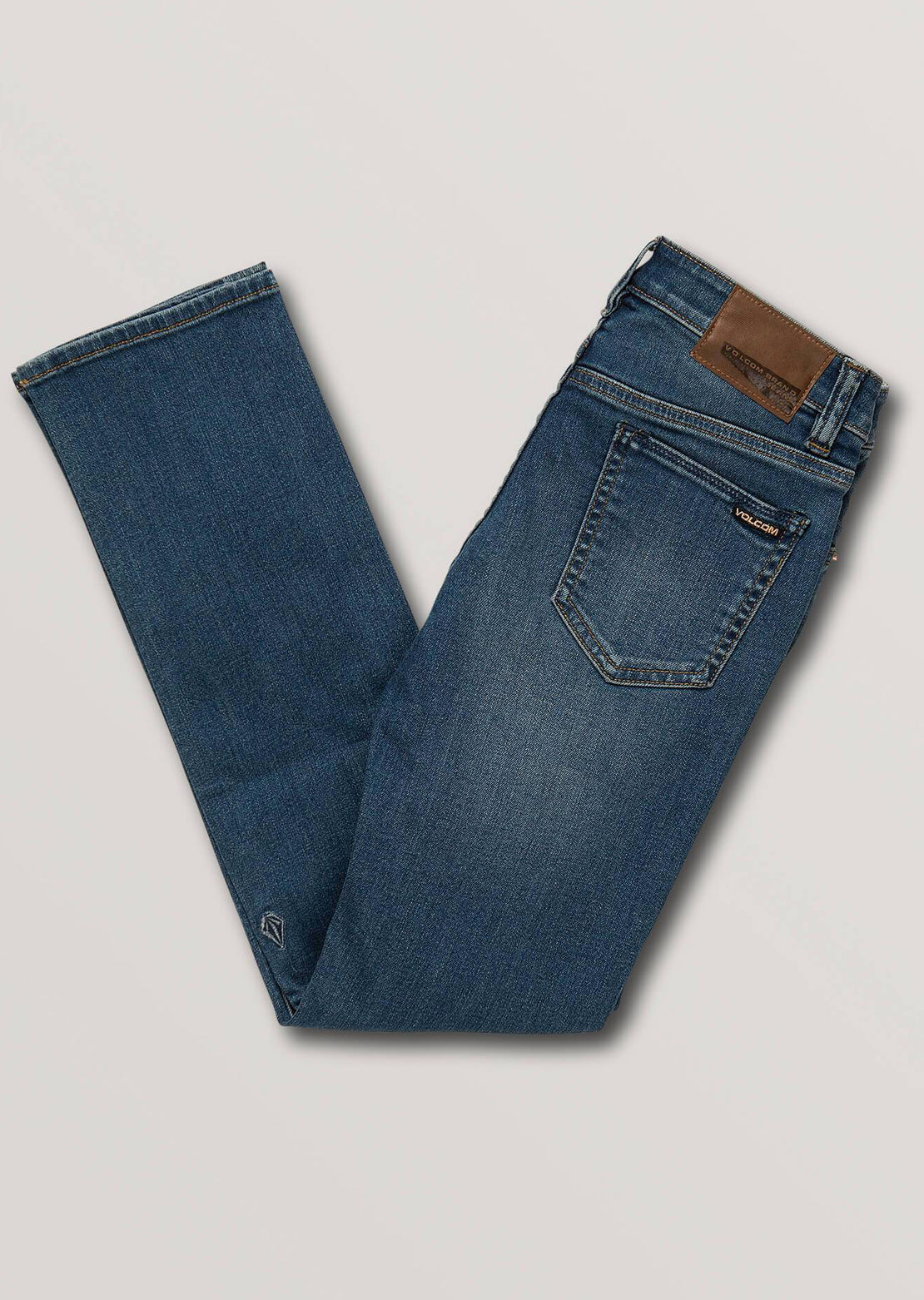 Volcom Junior Vorta Jeans Dust Bowl Indigo