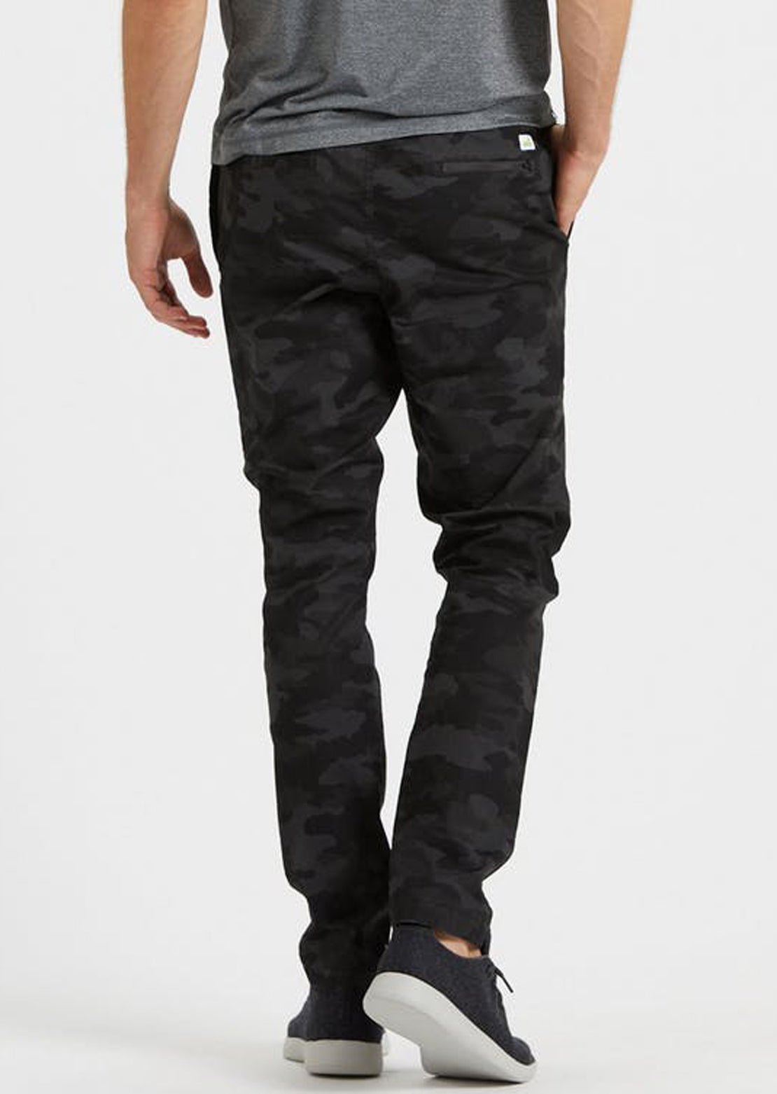 Vuori Men's Ripstop Climber Pants Black Camo