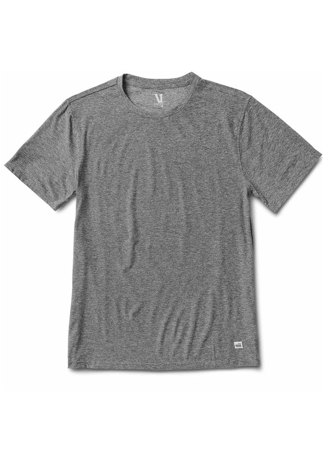 Vuori Men's Strato Tech T-Shirt Heather Grey