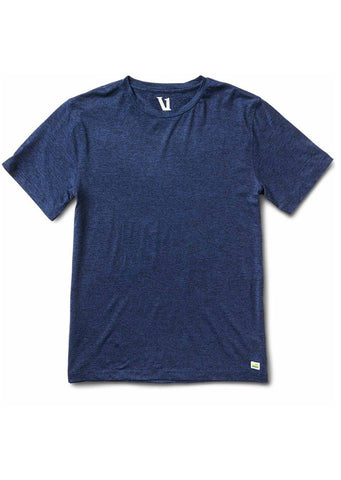 Vuori Men's Strato Tech T-Shirt Navy Heather