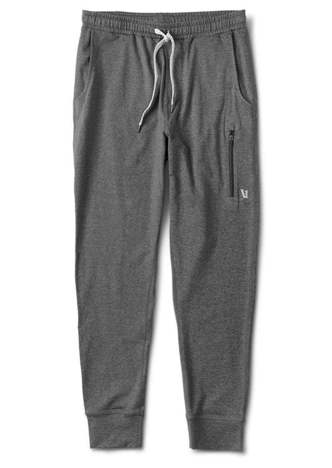 Vuori Men's Sunday Performance Joggers Charcoal Heather