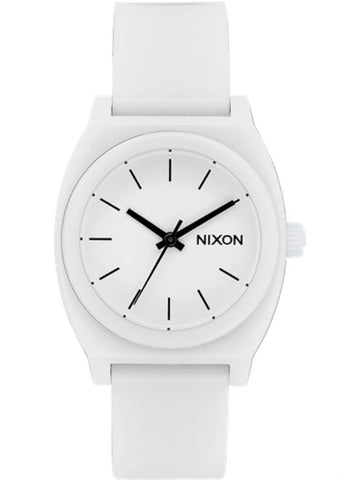 Nixon Medium Time Teller PU - All White