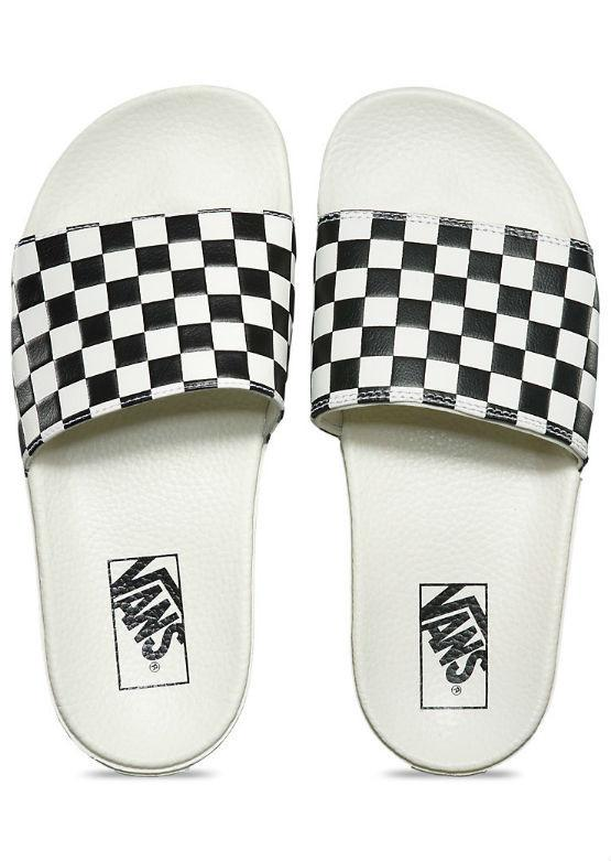 Vans Women's Slide-On - White/Black
