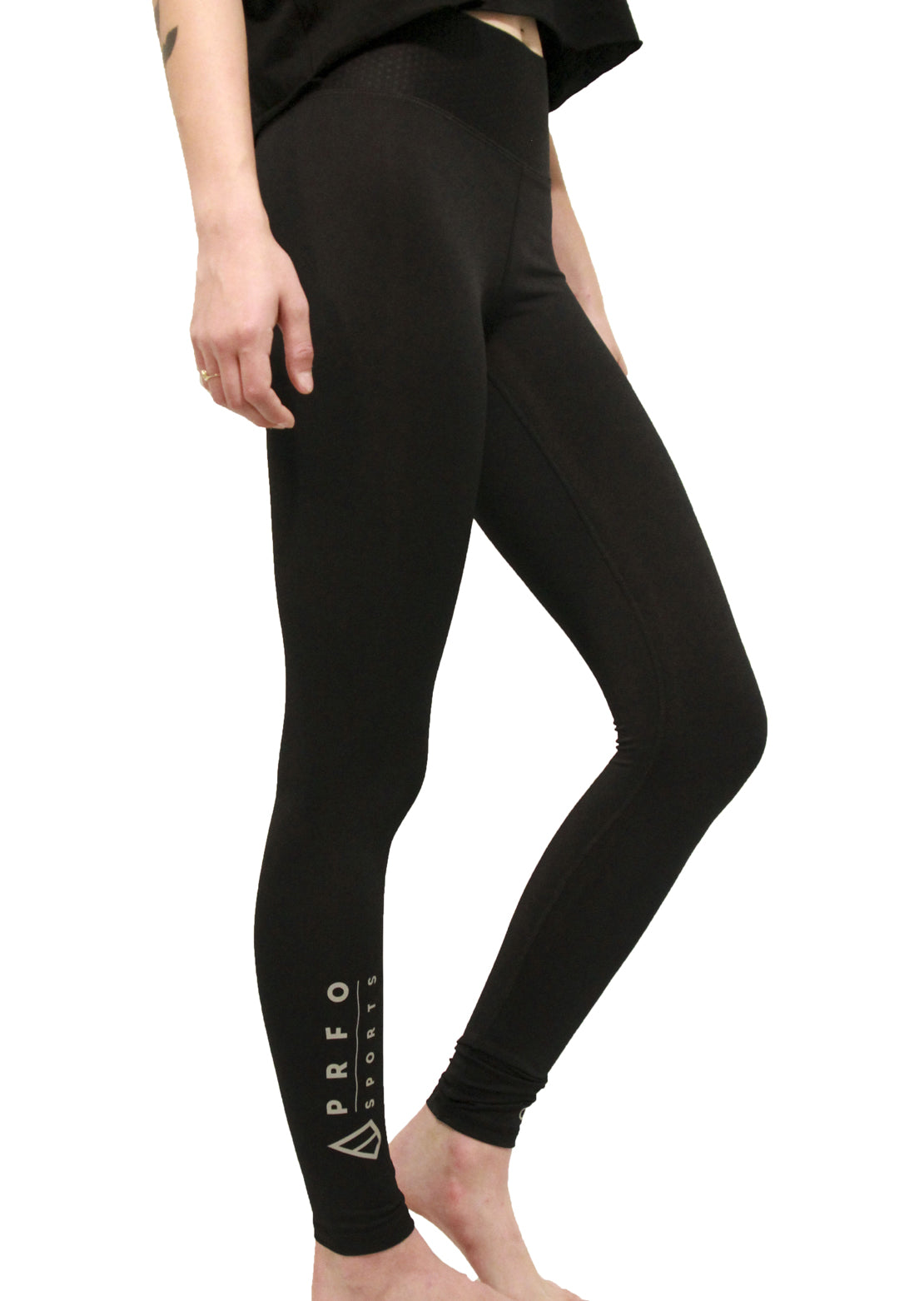 PRFO X Champion Women's Icon Sports Leggings Black/3m