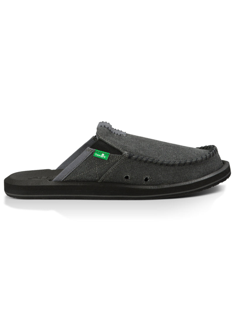 Sanuk Men's You Got My Back II Shoes Charcoal
