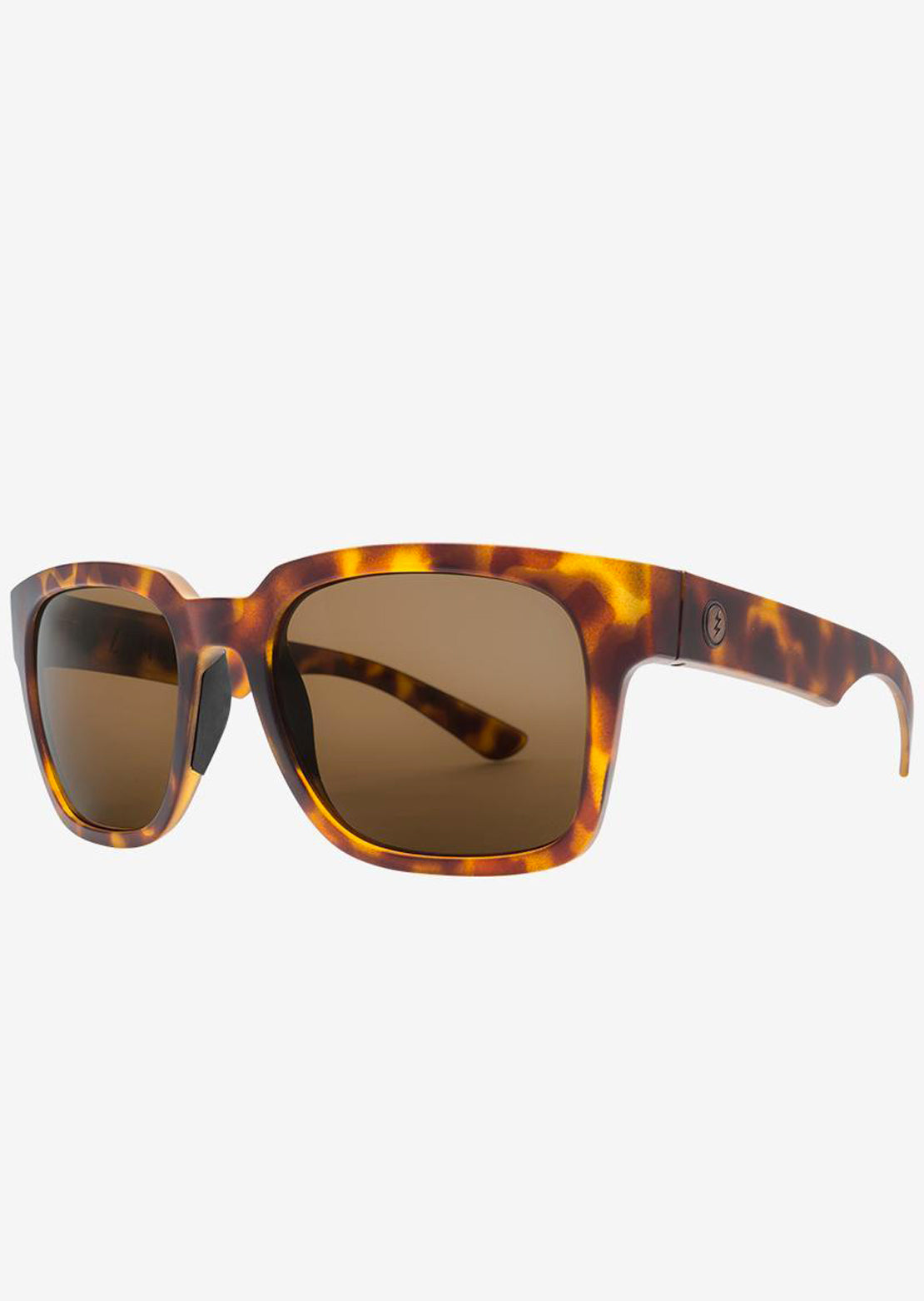 Electric Men's Zombie S Sunglasses Matte Tortoise/Bronze