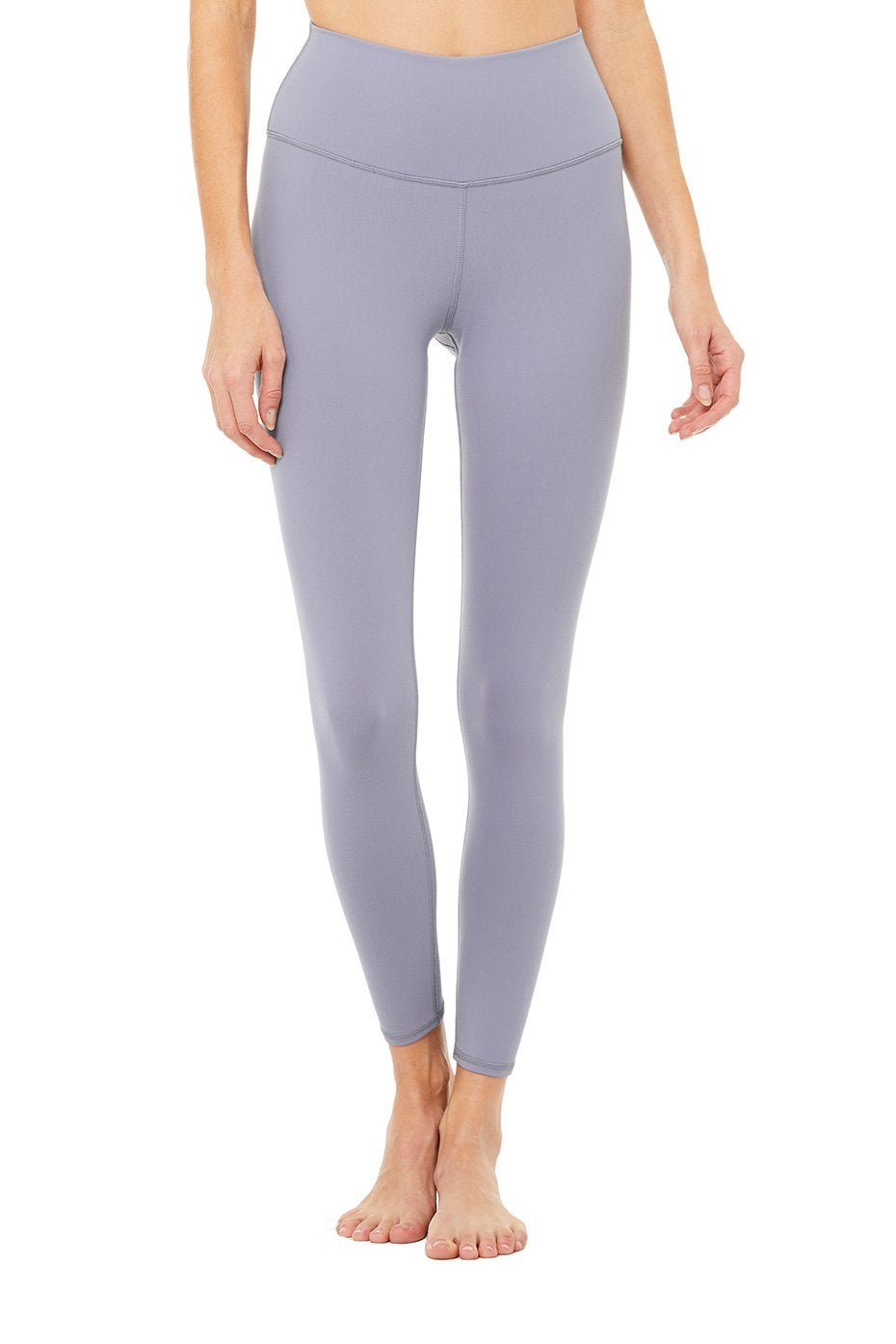 High-Waist Airbrush Legging Blue Moon