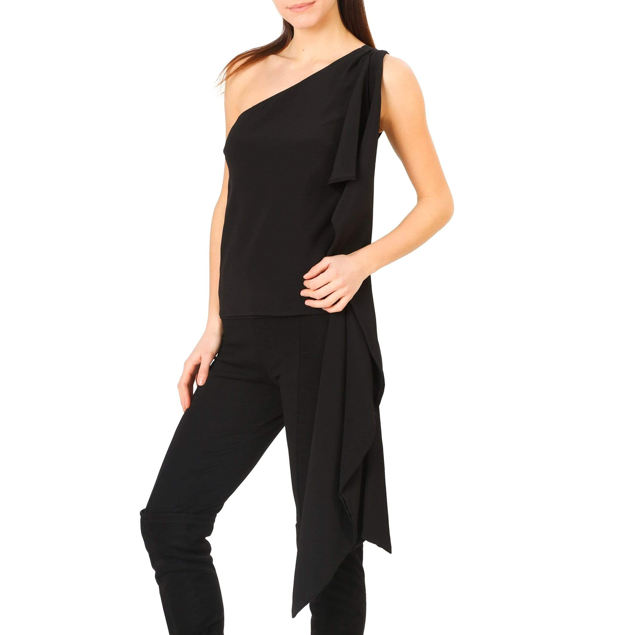 Annarita N Clothing Tops black / 38 Annarita N - 346