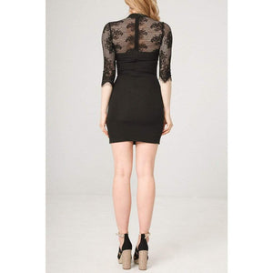 Fontana 2.0 Clothing Dresses black / S Fontana 2.0 - DIAMANTE