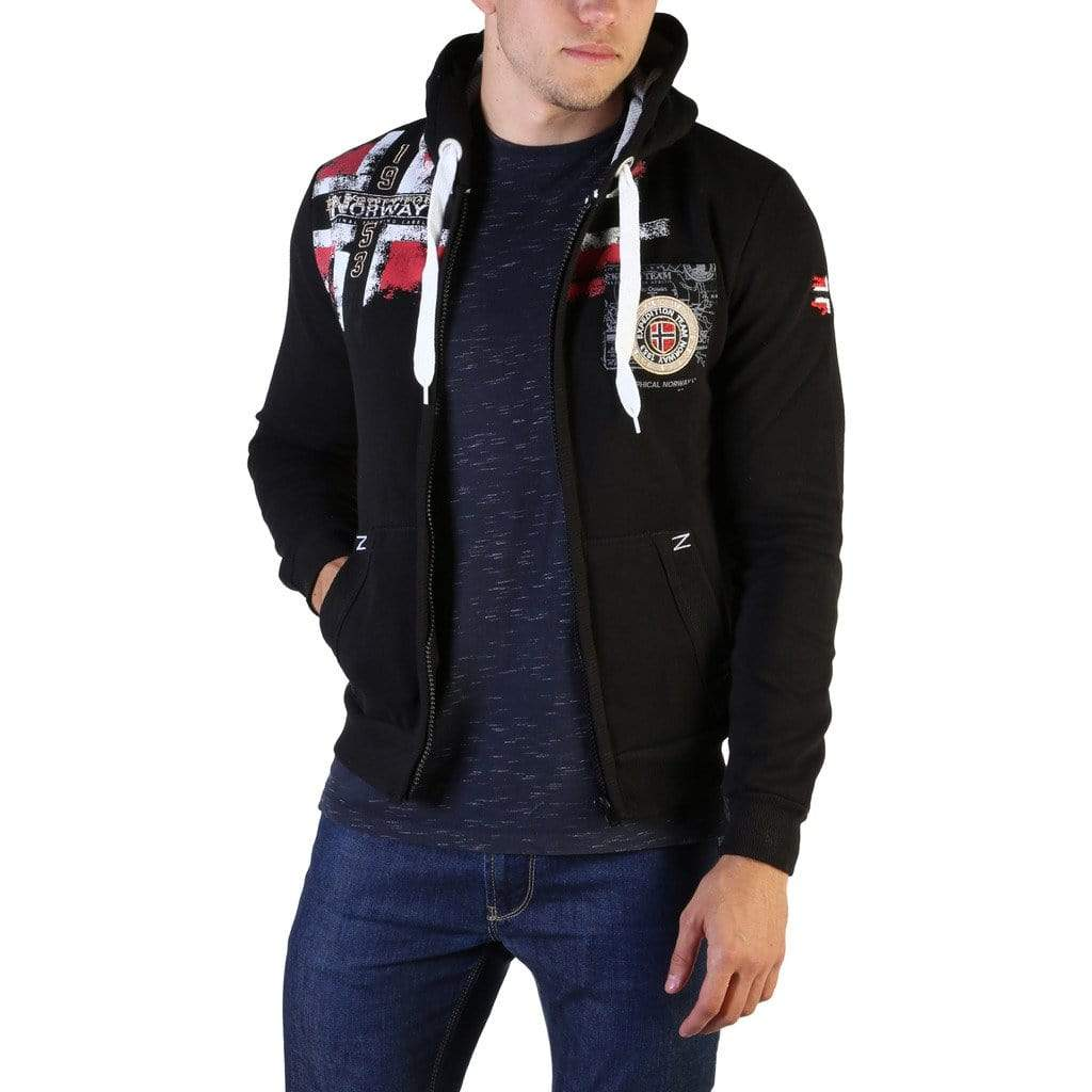 Geographical Norway Clothing Sweatshirts black / S Geographical Norway - Fespote100_man