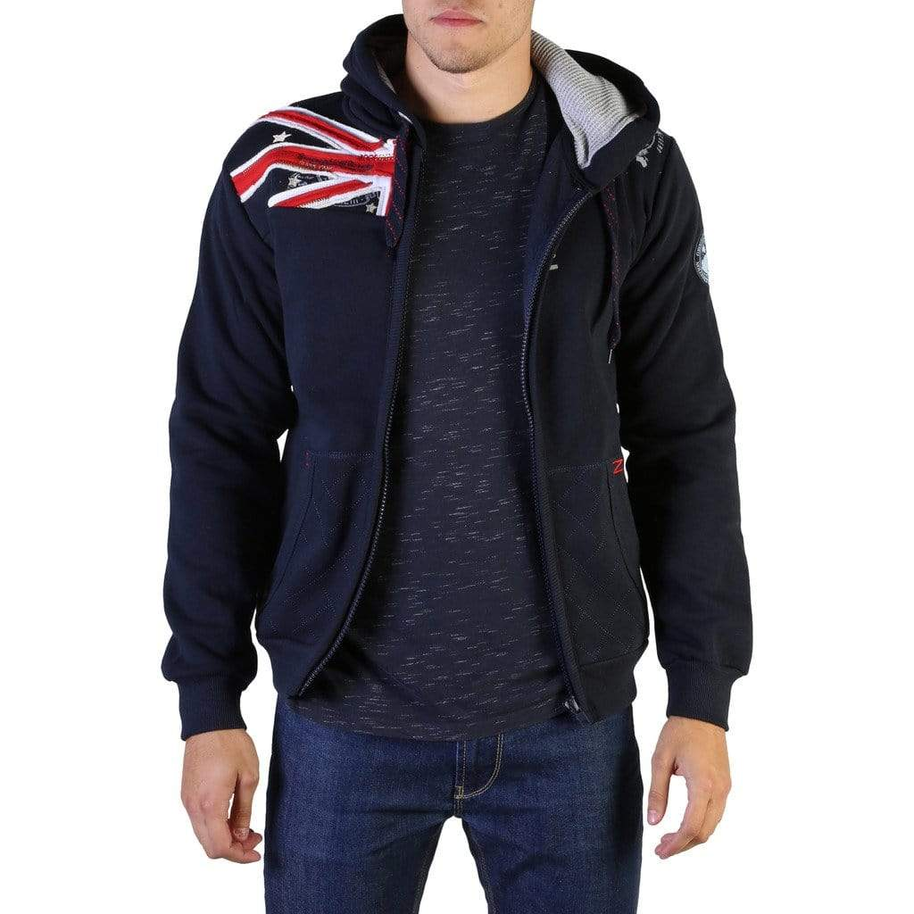 Geographical Norway Clothing Sweatshirts blue / L Geographical Norway - Gatsby100_man