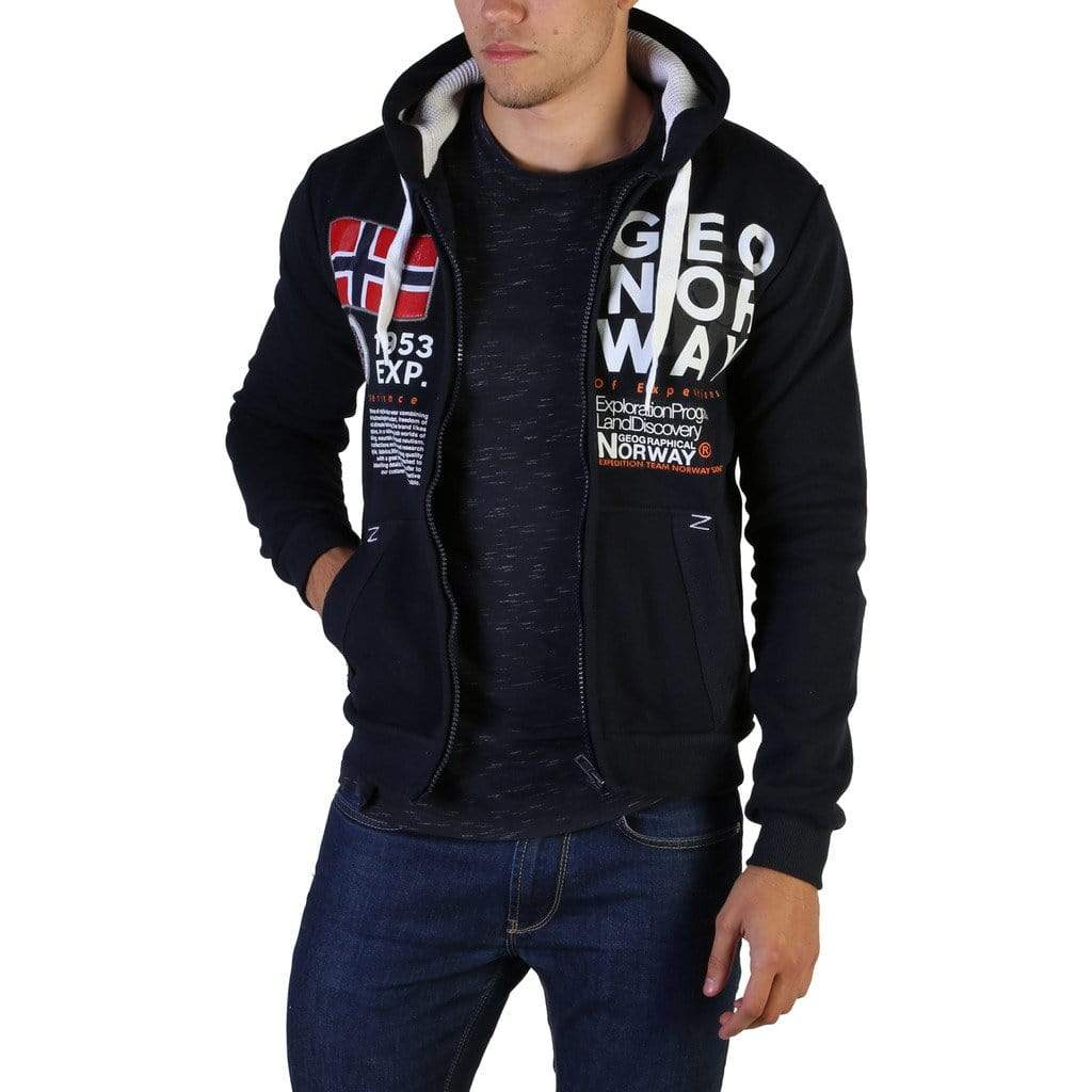 Geographical Norway Clothing Sweatshirts blue / S Geographical Norway - Gasado_man