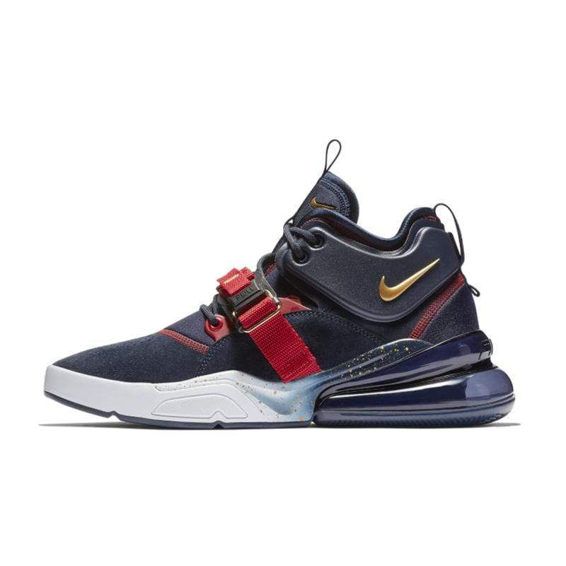 Italians Made AH6772 -400 / 40.5 Nike Air Force 270 QS PRPL Men Running Shoes Original Breathable Outdoor Sports Sneakers Air Max 270 #AQ1000 /AH6772