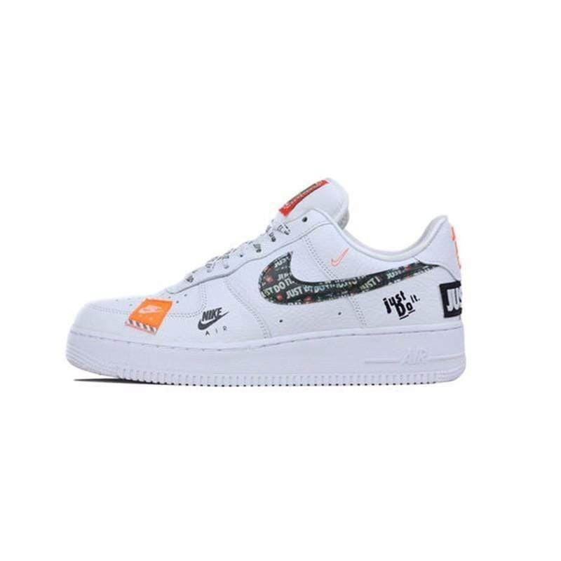 Italians Made AR7719-100 / 40.5 Nike Air Force 1 '07 Just Do It AF1  Breathable Men shateboarding Shoes New Arrival Original Comfortable Sneakers #AR7719-100