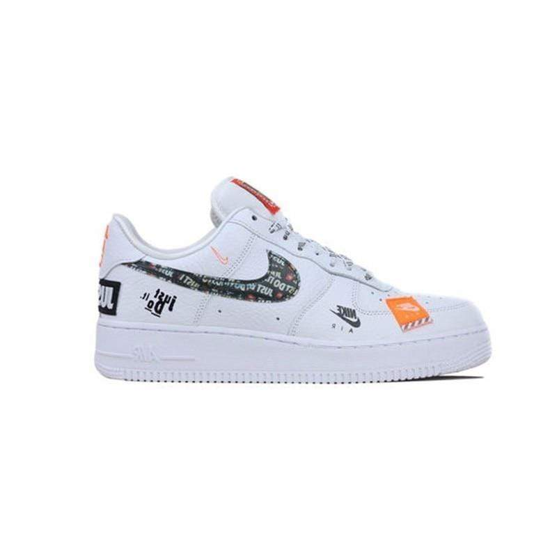 Italians Made Nike Air Force 1 '07 Just Do It AF1  Breathable Men shateboarding Shoes New Arrival Original Comfortable Sneakers #AR7719-100