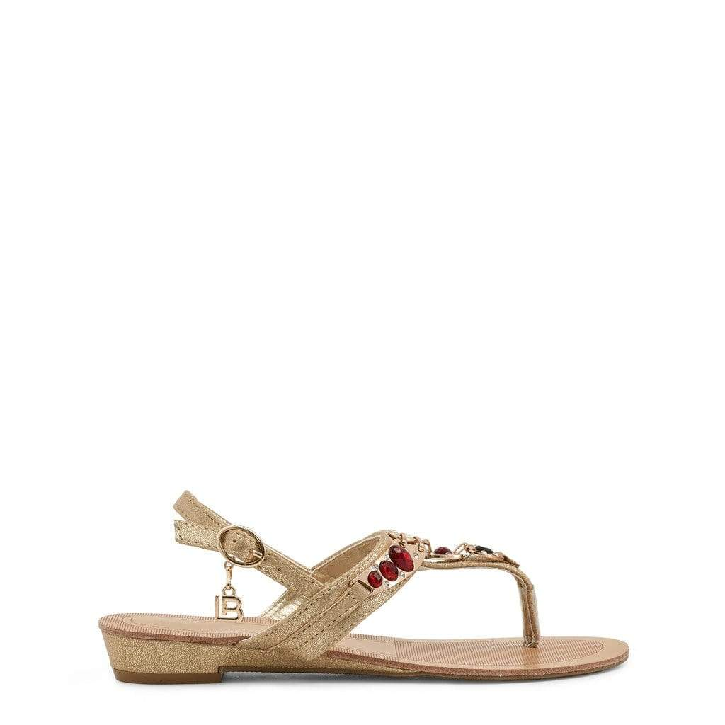 Laura Biagiotti Shoes Sandals yellow / EU 37 Laura Biagiotti - 713_METAL