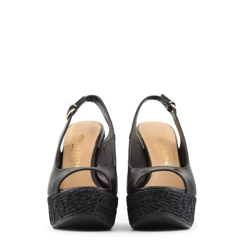 Made in Italia Shoes Wedges black / 40 Made in Italia - VANNA