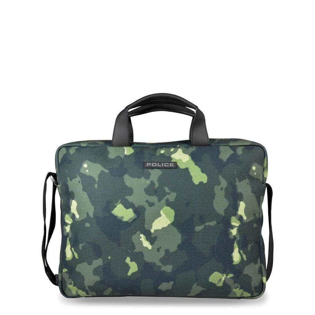 Police Bags Briefcases green / NOSIZE Police - PT442146