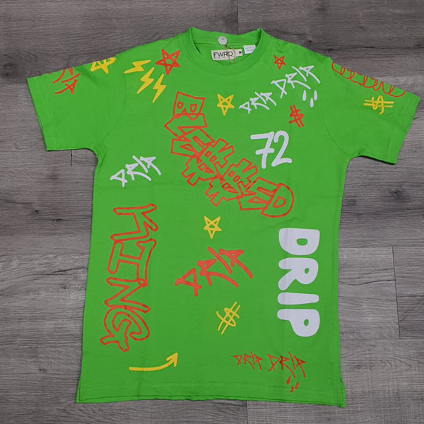 Men FWRD T-Shirt ( Lime ) - BLVD